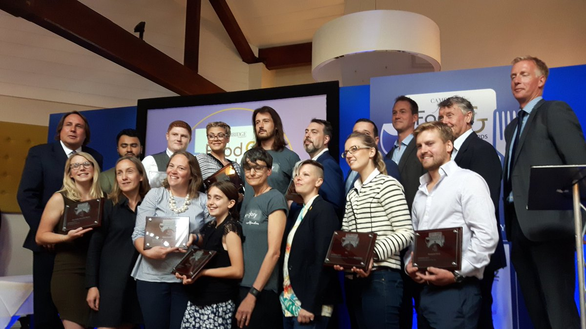 Cambridge Food & Drink Award Winners 2017